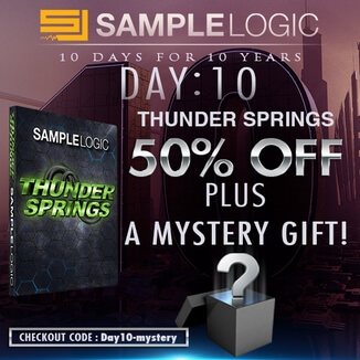 50% off Thunder Springs + free mystery gift
