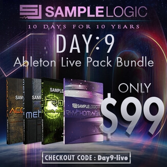 Ableton Live Pack Bundle for $99.99 USD