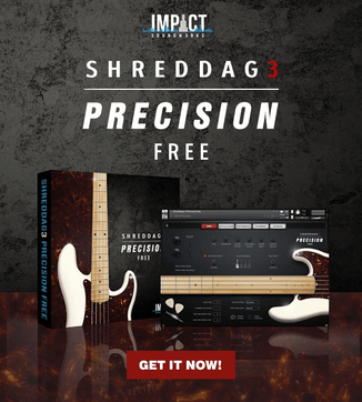 Shreddage 3 Precision FREE