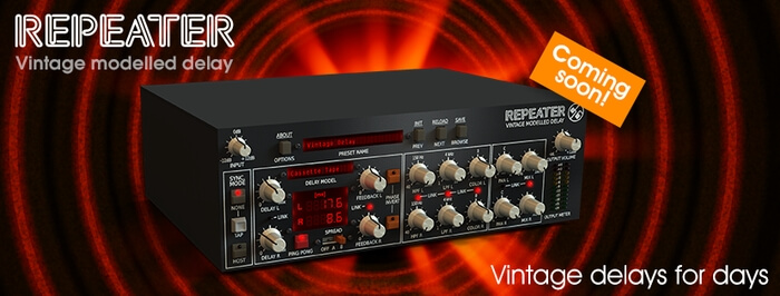 D16 Group Repeater delay plugin coming soon