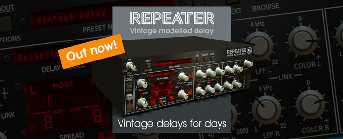 D16 Group Repeater delay plugin out now