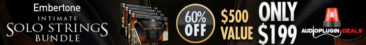 Save 60% off Embertone Intimate Solo Strings Bundle