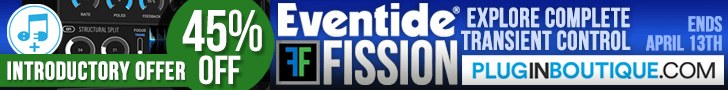 45% off Eventide Fission