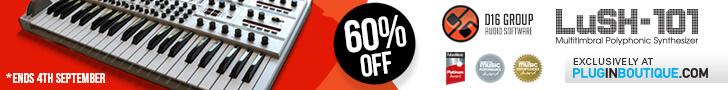 60% off LuSH-101 at Plugin Boutique