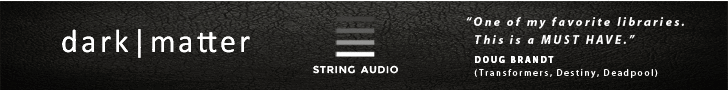 String Audio Dark Matter