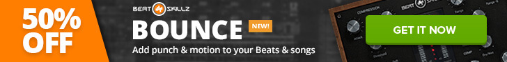 50% off Beatskillz Bounce compressor plugin