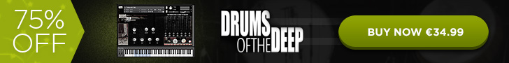 75% off Auddict Drums of the Deep