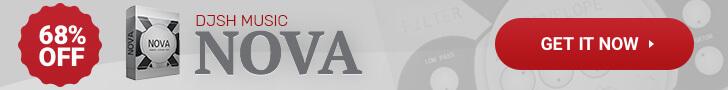 68% off Nova pads, atmospheres and sound design for Kontakt