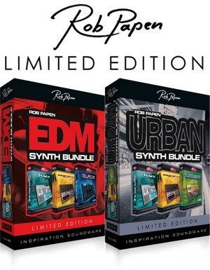 Rob Papen Limited Edition EDM & Urban Bundles