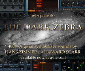 u-he The Dark Zebra soundset