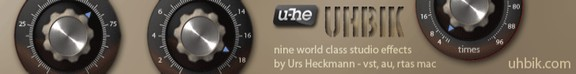 u-he Uhbik plugins