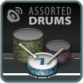 Atom Splitter Audio Assorted Drum Hits Vol. 1