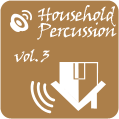 Atom Splitter Audio Household Percussion Volume 3