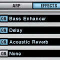 Alchemy effects section