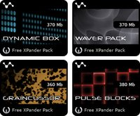 Cluster Sound XPander Packs
