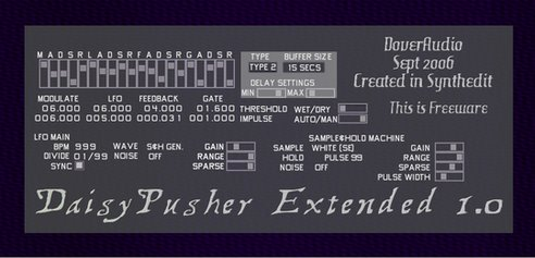 Dover Audio Daisypusher Extended v1.0
