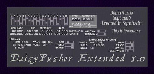 Dover Audio Daisypusher Extended v1.0