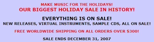 EastWest Holiday Sale