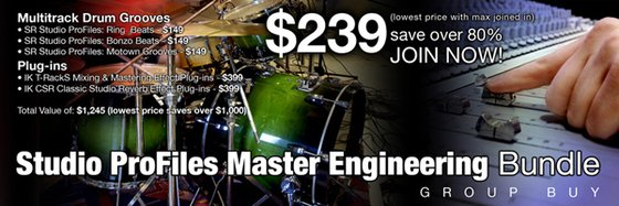 eSoundz Studio ProFile Master Engineering Bundle Group Buy