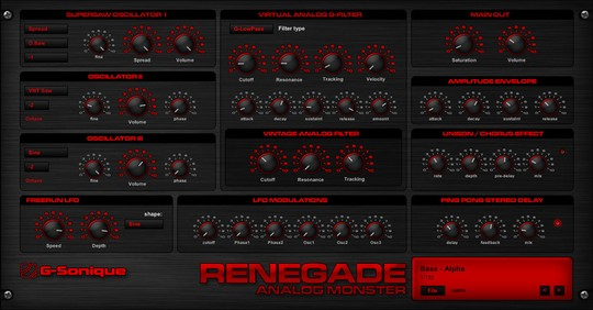 G-Sonique Renegade