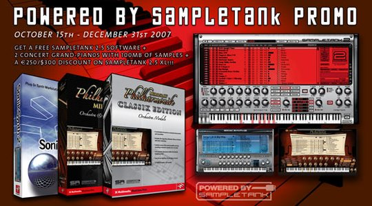 IK Multimedia Powered by SampleTank promo