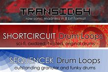 Kreativ Sounds TranSID 64, ShortCircuit Drum Loops, SequenceK Drum Loops