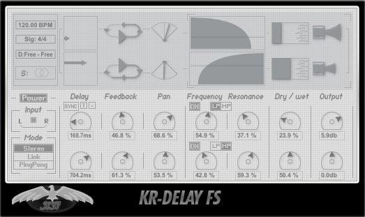 KResearch KR-Delay FS