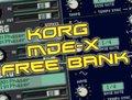Le Lotus Bleu Korg Legacy MDE-X Sound Bank