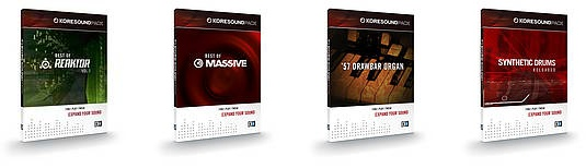 Native Instruments KORESOUND PACKS