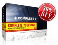 Native Instruments KOMPLETE 5 offer