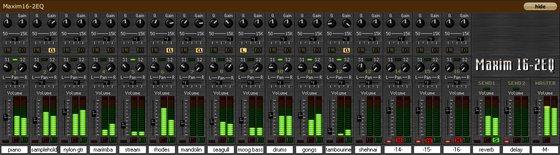 Pethu Maxim 16-2EQ Mixer