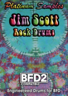 Platinum Samples Jim Scott Rock Drums