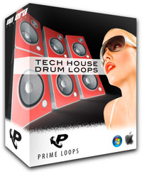 Prime Loops Tech House Drum Loops