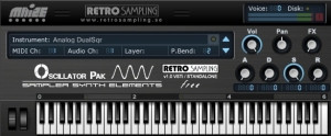 Retro Sampling Oscillator Pak