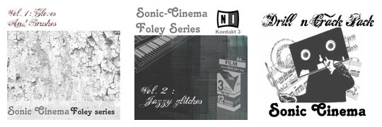 Sonic Cinema sample packs