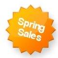 Spring Sales!