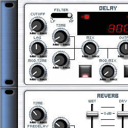 Sweetboy SH-1 Delay & Reverb