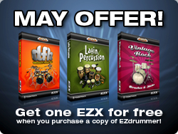 Toontrack Music EZdrummer anniversay deal