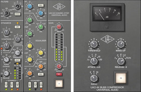 UAD 4K Channel Strip & Buss Compressor