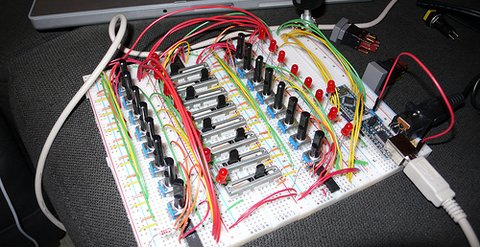 Beamer's Arduino Sequencer
