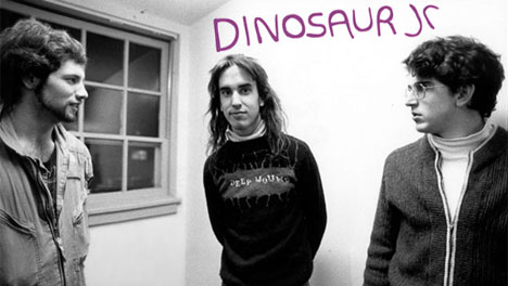 Dinosaur Jr. back in the day - Murph, Jay and Lou