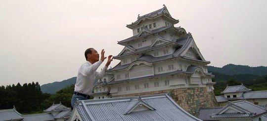 Himeji Castle miniature