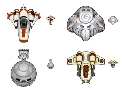 Iconfactory Baby Spaceships