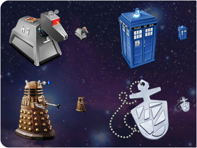 Iconfactory Doctor Who icon set