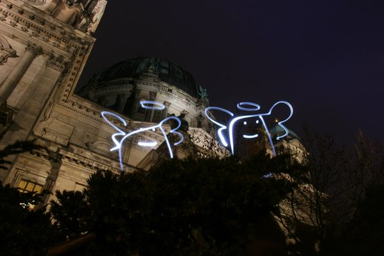lightfaktor Light Graffiti - Berlin Dom