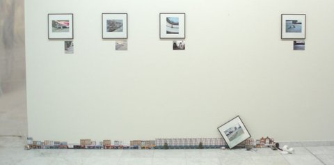 Little People installation at the Nuart show