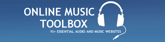 Mashable Online Music Toolbox