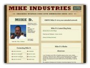 Mike Davidson's MySpace profile