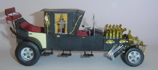 Munster Koach paper model