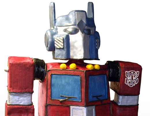 Optimus Prime cake